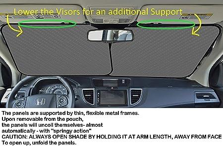 Riflettore UV Sole e Calore GFHTH Running Speedy Gonzales Parabrezza per Auto Parasole Universale Fit Parasole per Auto-Mantieni Fresco Il Tuo Veicolo