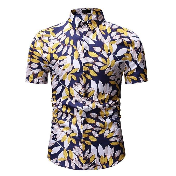 online store 3b982 c40f8 Herren Druck T-Shirt 3D Stehkragen Muster Hemden Strand ...