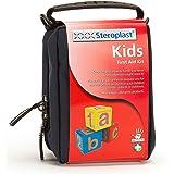 Steroplast - Mini Kit Infantil de Primeros Auxilios   Botiquín Portátil Para Niños   17 Piezas   Bolsa Ahorra Espacio   Azul Marino