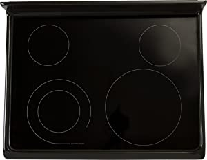 Electrolux 316531983 Main Glass Top, Black