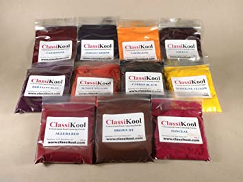 Amazon.com : Classikool 25g Concentrated Food Coloring Powder (All ...
