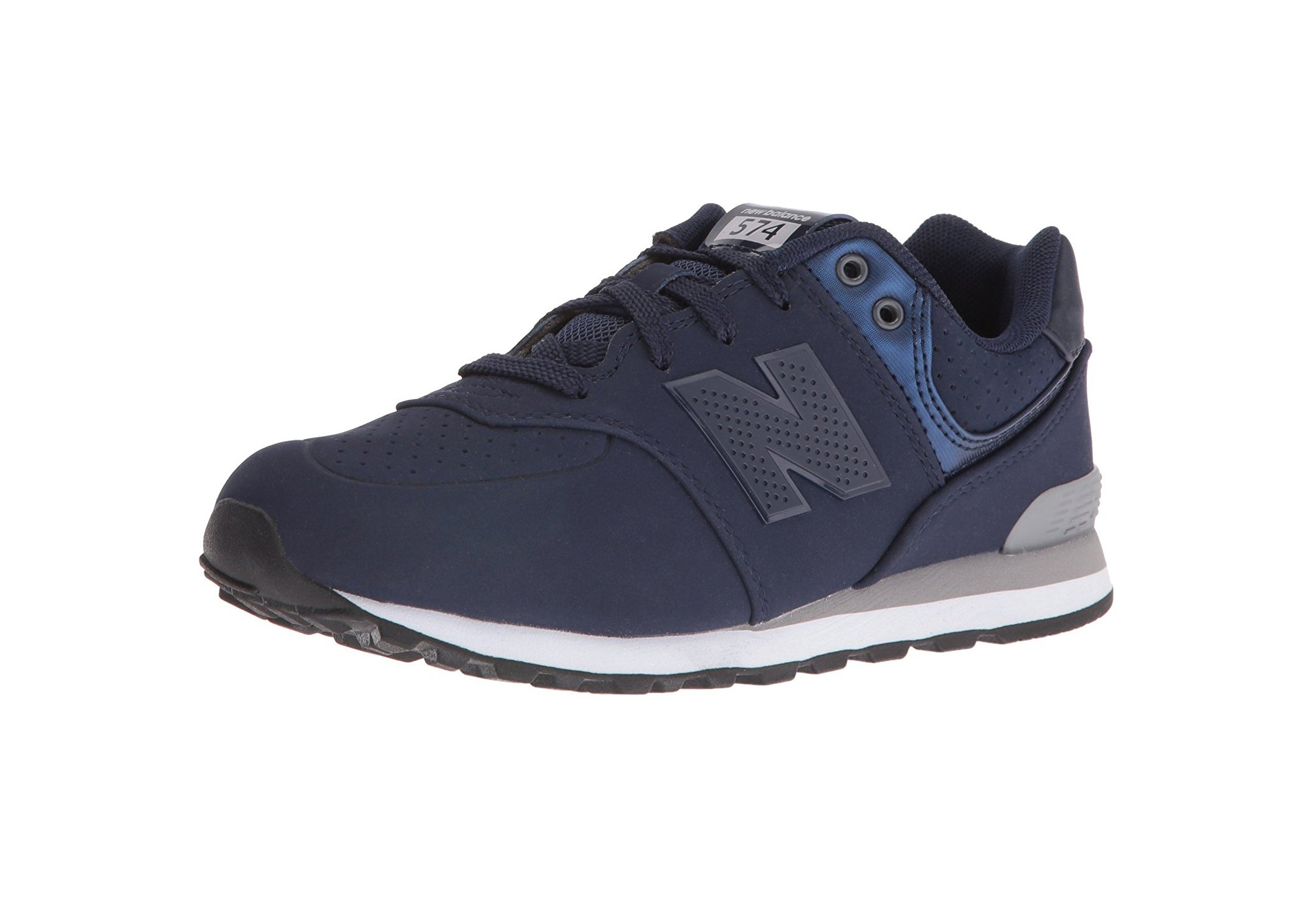 b616232f30132 Galleon - New Balance Boys' KL574V1 Paint Chip Pack Sneaker Blue/Grey 5 M  US Big Kid
