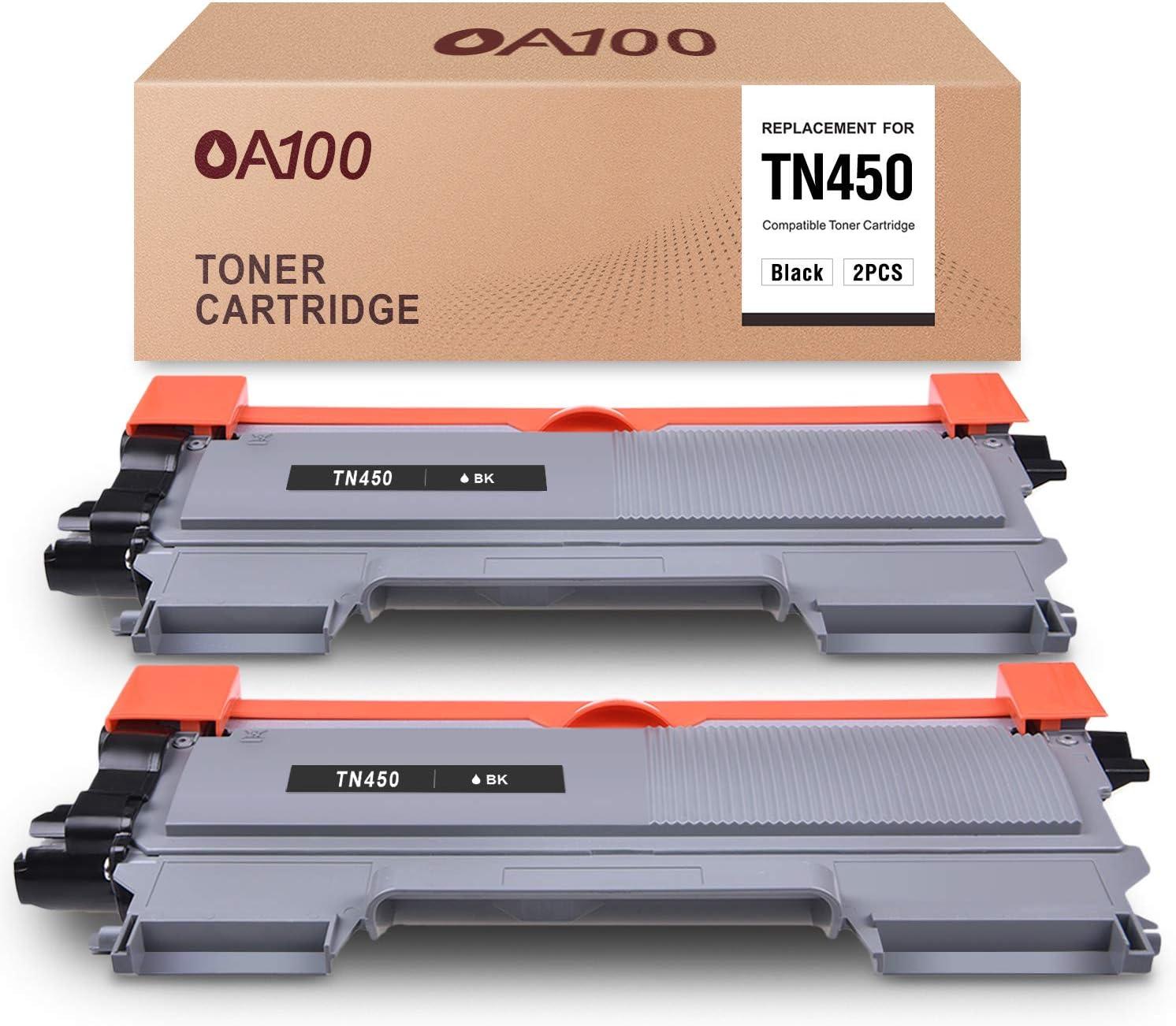Toner para OA100, Brother TN450 TN420,IntelliFax-2840(negro)
