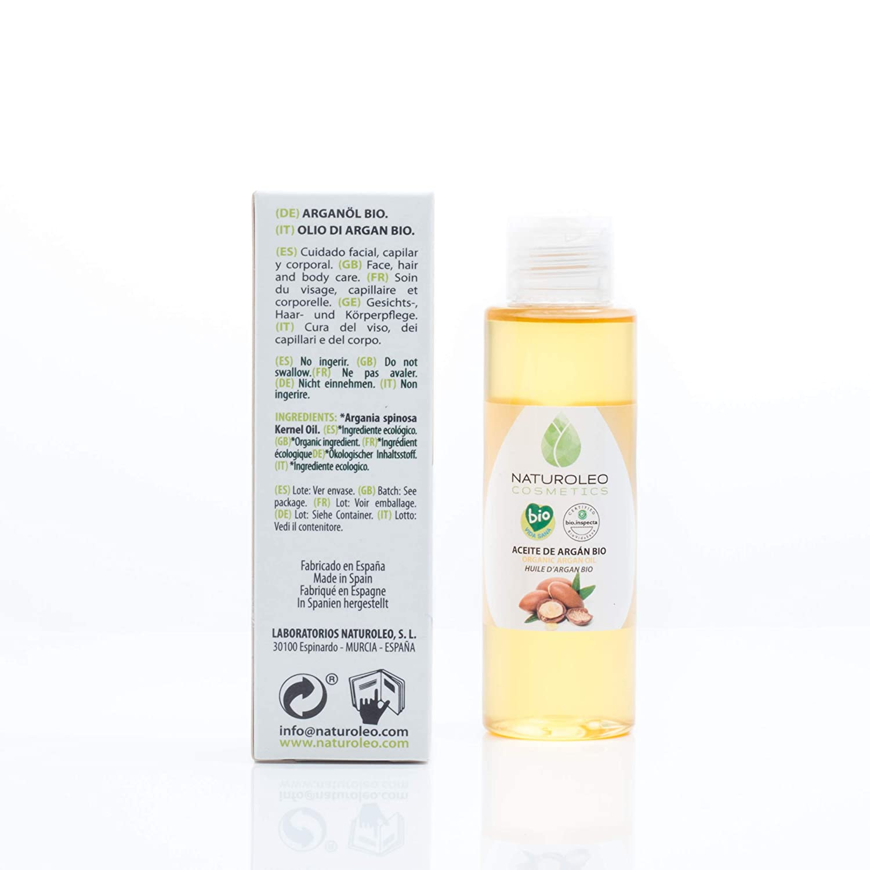 Amazon.com: Naturoleo Cosmetics BIO Argan - Aceite vegetal ...