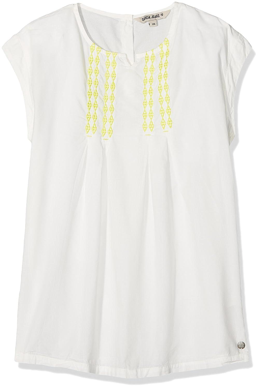140//146 164//170 Garcia Shirt kurzarm T-Shirt Offwhite Weiß Mädchen Gr 152//158