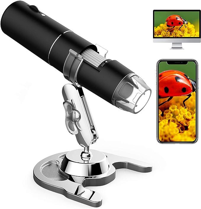 Wifi Usb Mikroskop Handgehalten Mikroskop Mit 8 Leds Kamera