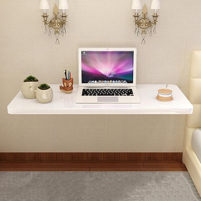Mesa de Escritorio Blanca Convertible Plegable Mesa de Pared ...