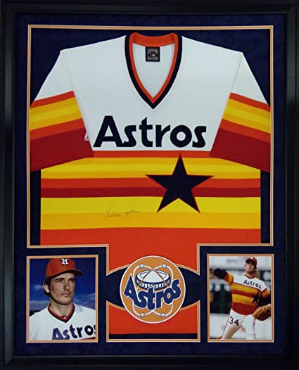 e7a7d71d5f0 Nolan Ryan Houston Astros Autograph Signed Custom Framed Jersey Tristar  Authentic Certified