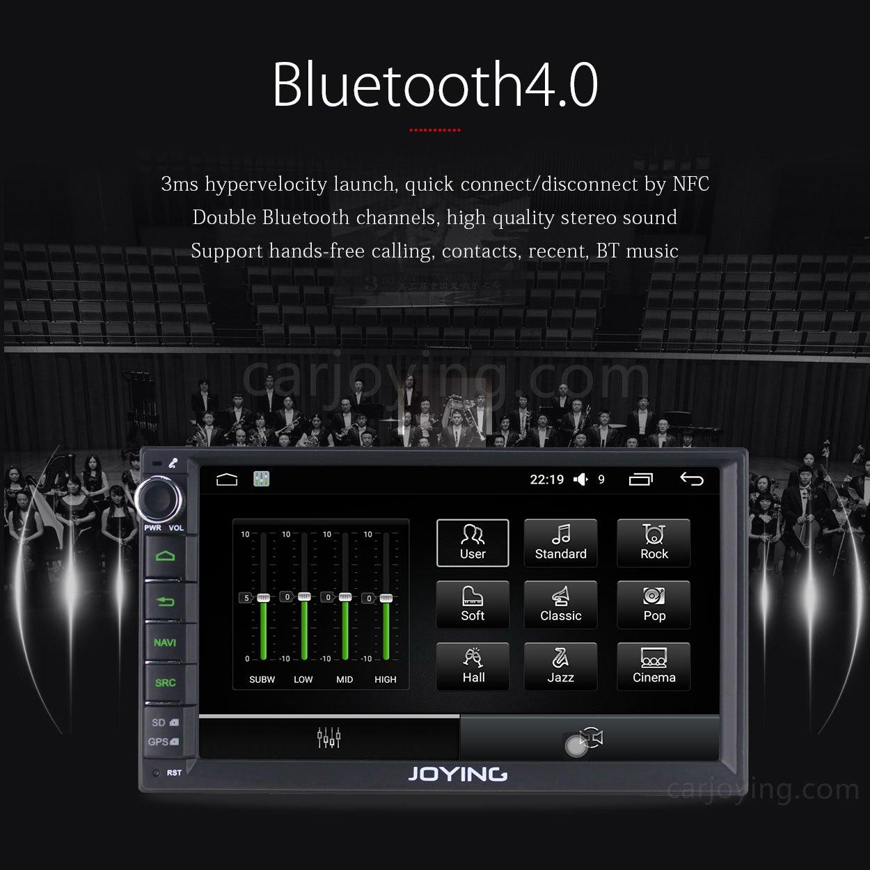 Amazon com joying 7 car stereo 2gb 32gb android 6 0 head unit double din car electronics