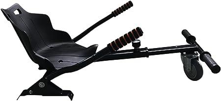 EasyCosy Asiento HOVERKART para Patinete Eléctrico, Silla para Hoverboard Self Balancing Compatible con todos los Patinetes Eléctricos de 6.5, 8 y 10 pulgadas. Color Negro: Amazon.es: Hogar