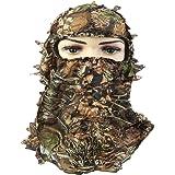 YB Camoflage Hunting Leafy 3D Face Mask Hood