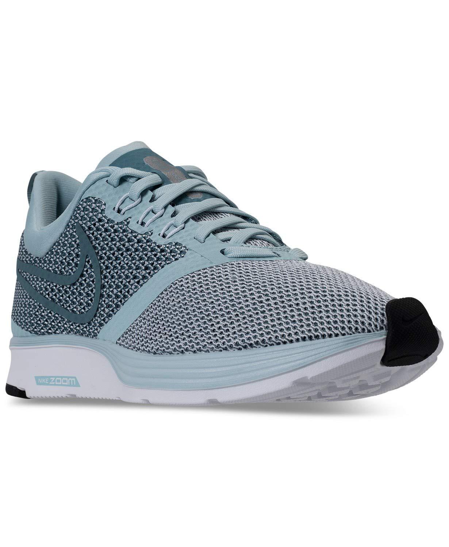finest selection c455e 23445 Galleon - Nike Women s Zoom Strike Running Shoes Ocean Bliss Noise Aqua  White Black AJ0188 401 (7.5 M USA Women)