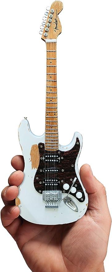 Motley Crue Mick Mars Vintage Blanco Mini Guitarra con Licencia ...