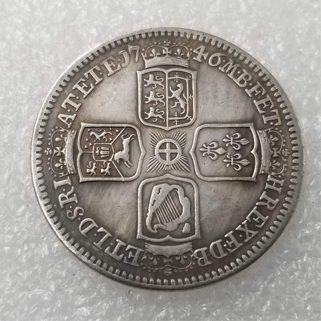 YunBest - 1746 - Monedas antiguas del Reino Unido, moneda antigua ...