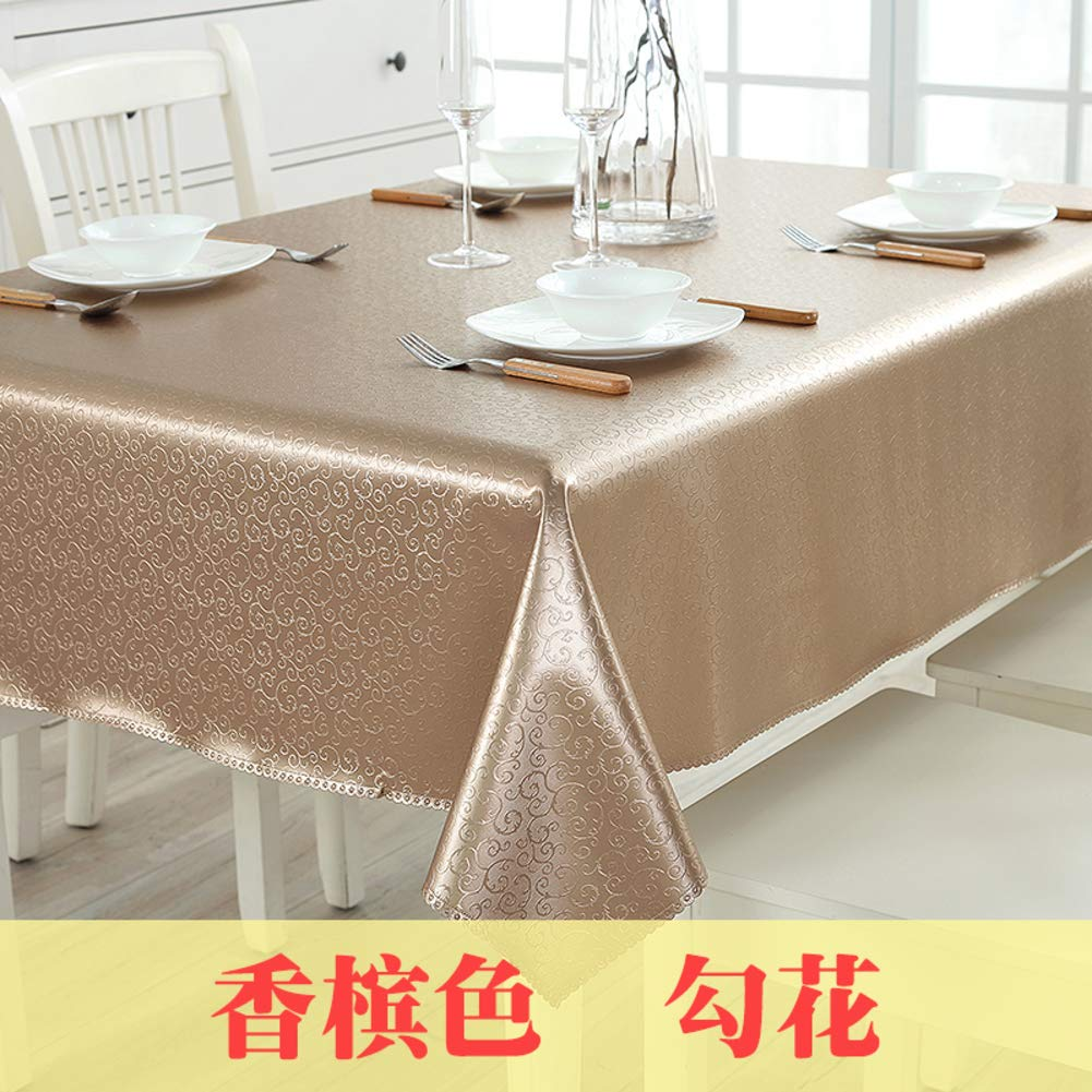 HOMEJYMADE ホテル長方形テーブルクロス テーブルパッドプロテクター ラウンドテーブルクロス 結婚式 会議 ホテル レストラン パーティー用 90x150cm(35x59inch) CWRKLDQWDX 90x150cm(35x59inch) D B07PS8K4DT