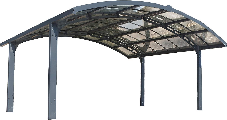 Palram Carport Arizona Breeze Double - Wings/Arch: Amazon.es ...
