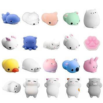 Amazon.com: 20 unidades de mini Rising Kawaii squishies, de ...