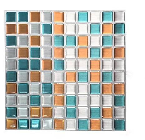 Adesivo Per Piastrelle E 3d Gel Effetto Mosaico Di Alta Qualità