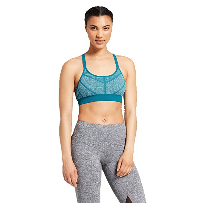 4f0c1807dfd Champion C9 Women s Seamless Padded Strappy Cami Sports Bra - (Mermaid  Teal