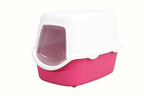 Zolux, inodoro Casita para gatos con filtro: Amazon.es: Productos para mascotas