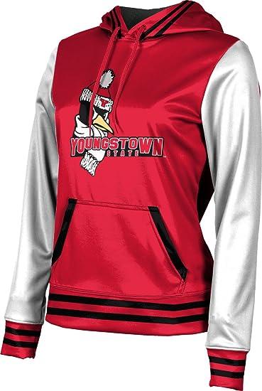 School Spirit Sweatshirt ProSphere Youngstown State University Girls Pullover Hoodie Letterman