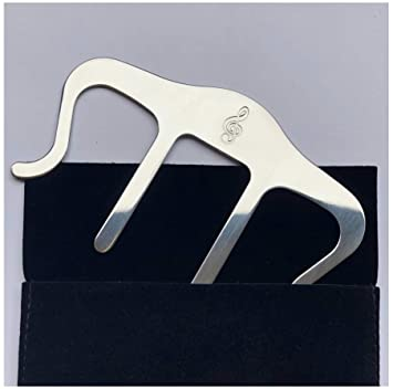 Amazon com: Metal Music Book Clip and Page Holder - Sheet
