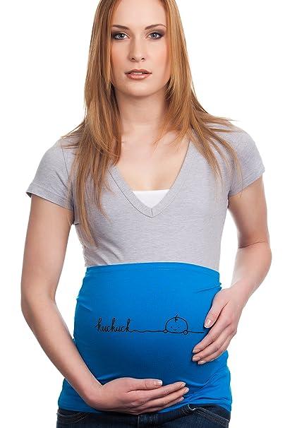 Faja para embarazadas, diseño con texto «kuckuck»: Amazon.es: Ropa y accesorios