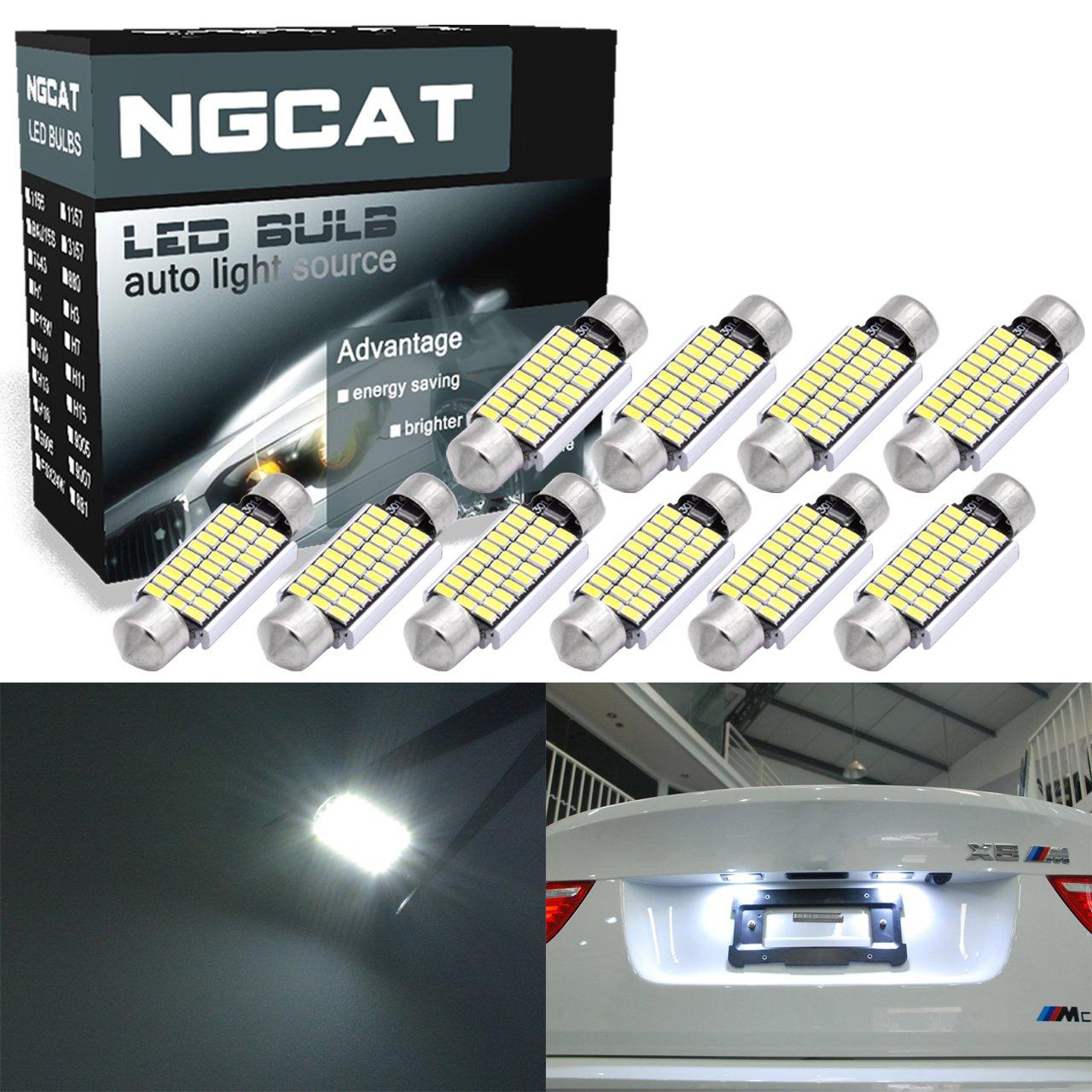 Ngcat extr ê mement lumineux 10  pcs 300lumens 6000  K 5630  LED de  remplacement de ... 0173c670ea7