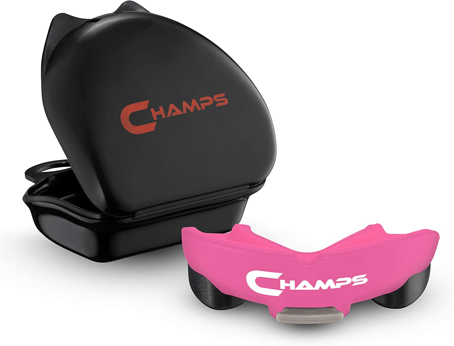 Champs Breathable Mouthguard for Boxing, Jiu Jitsu, MMA, Rugby, Muay Thai, Sports, and Wrestling