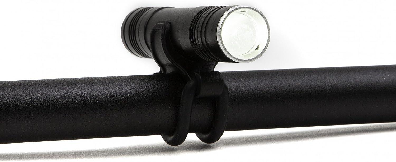 UGOE 200 Lumen Front Ultra Bright Bike LED Cree Alloy Li-Ion Recharge USB Light