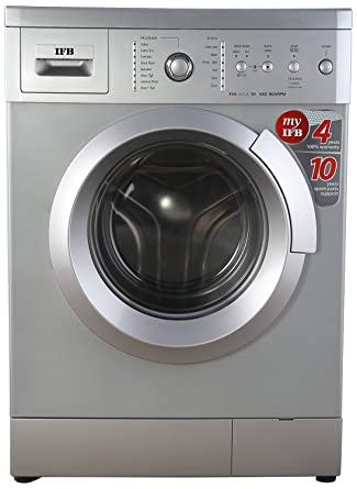 IFB 6 kg Fully-Automatic Front Loading Washing Machine (Eva Aqua SX LDT, Silver)