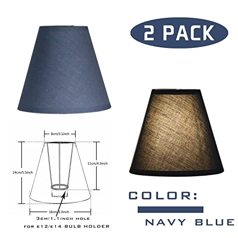 OYGROUP Solid Color Replacement Lampshade Simple Fashion Shade Creative  Simple Table Lamp Shade (Pack Of