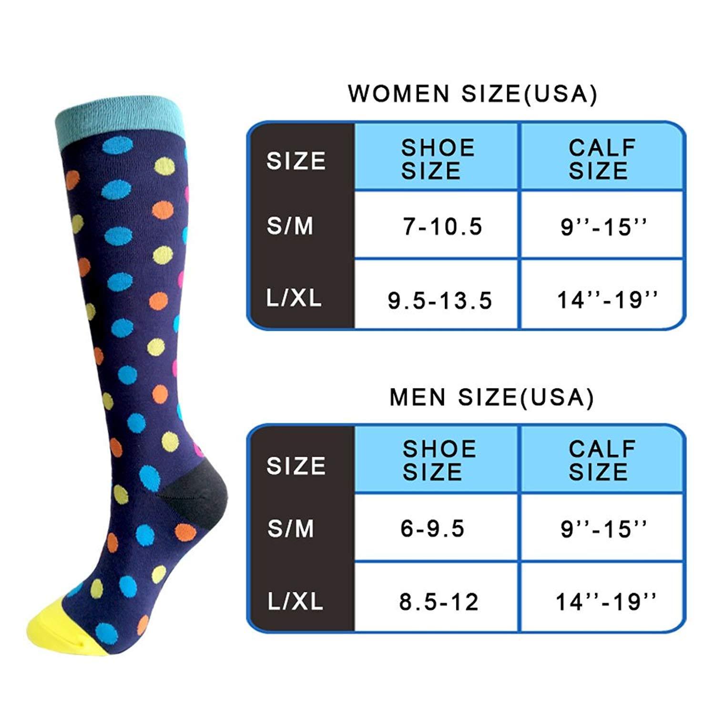 8fe50f1d6ea Compression Socks For Men   Women - 3 6 Pairs - Best Sports Socks ...