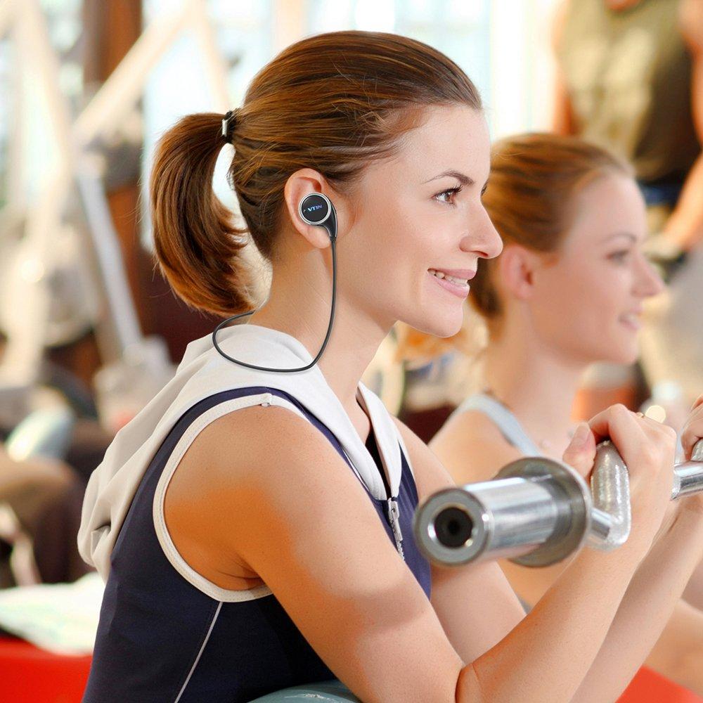 Amazon.com: Vtin Inalámbrico Auriculares/Audífonos Deportivo Bluetooth 4.1,Versión QY8,Reducción de Ruido y Sonido Estéreo: Cell Phones & Accessories