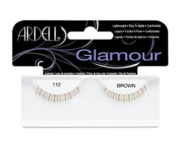 0c0adbbc353 Amazon.com : Ardell Fashion Lashes Pair - 112 Lower Lashes Brown ...