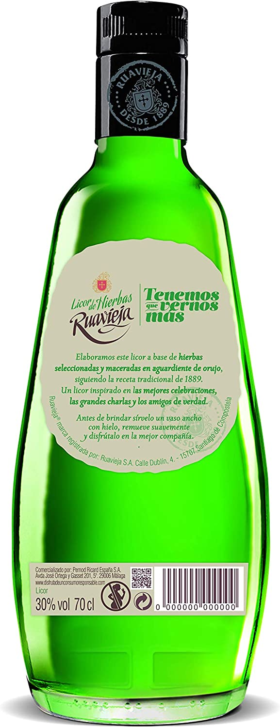 Ruavieja Licor de Hierbas - 700 ml: Amazon.es: Amazon Pantry