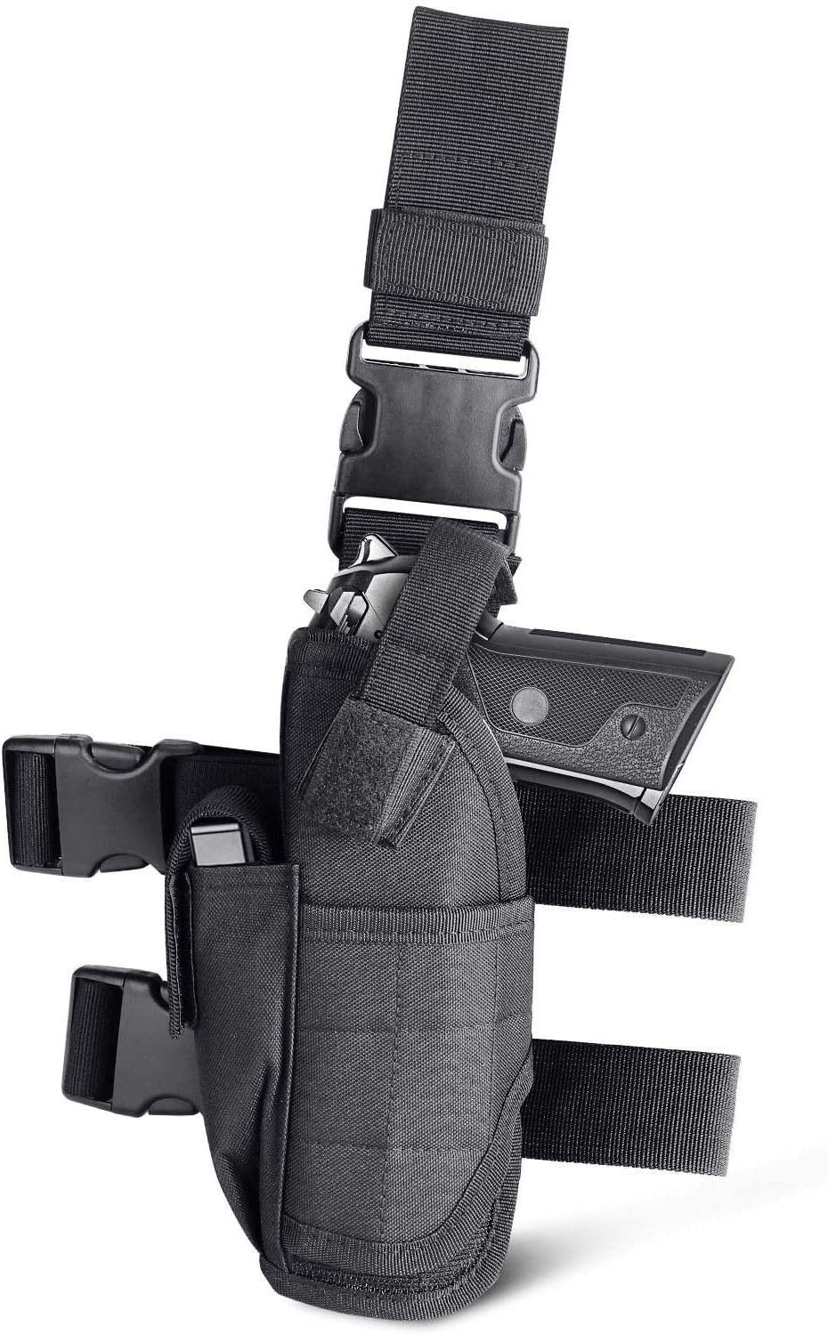Cisno Gun Holster Right Leg Adjustable Tactical