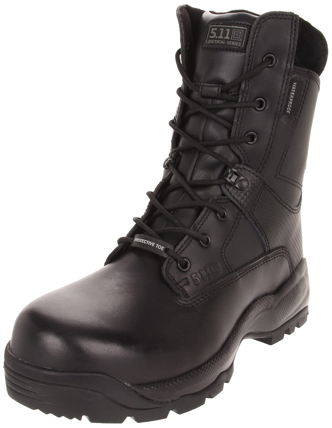 "5.11 Men's A.T.A.C. SHIELD 8"" Side Zip CSA/ASTM Tactical Boot with Safety Toe"