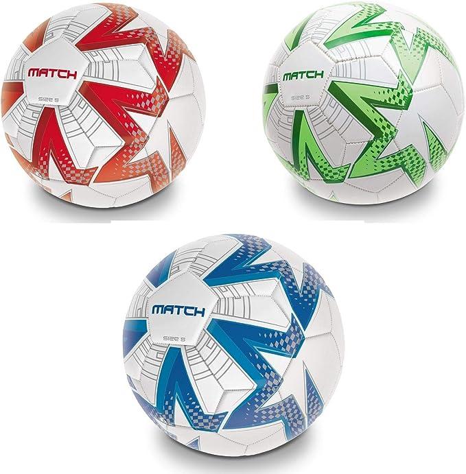 Mondo - Match, balón de fútbol, Hecho de Cuero (13952.2): Amazon ...