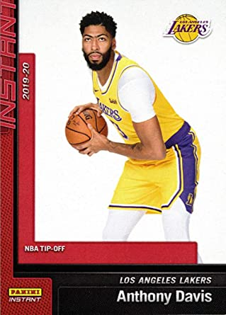 Amazon Com 2019 20 Panini Instant 1 Anthony Davis