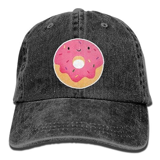 a9c0bc41448 Amazon.com  DanLive Baseball Cap Happy Donut - Adjustable Trucker ...