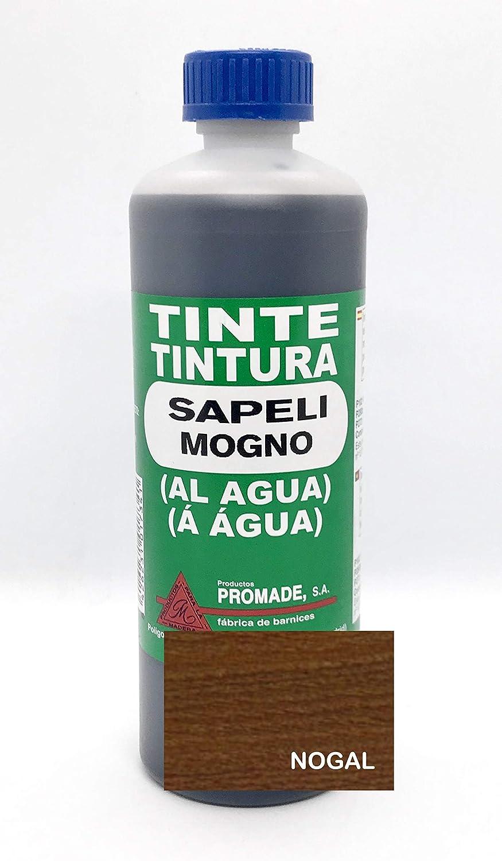 Promade - Tinte al agua para madera 500 ml (Nogal)