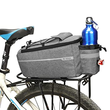 SCEGLI IL MODELLO E COLORE Borsa Doppia POSTERIORE per bicicletta