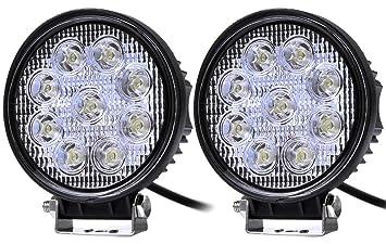 27W LED Arbeitsscheinwerfer Offroad Scheinwerfer Offroad Zusatzscheinwerfer SUV