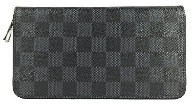 Image Unavailable. Image not available for. Colour  Louis Vuitton Zippy  Vertical Damier Graphite N63095 Wallet 271e82334188c