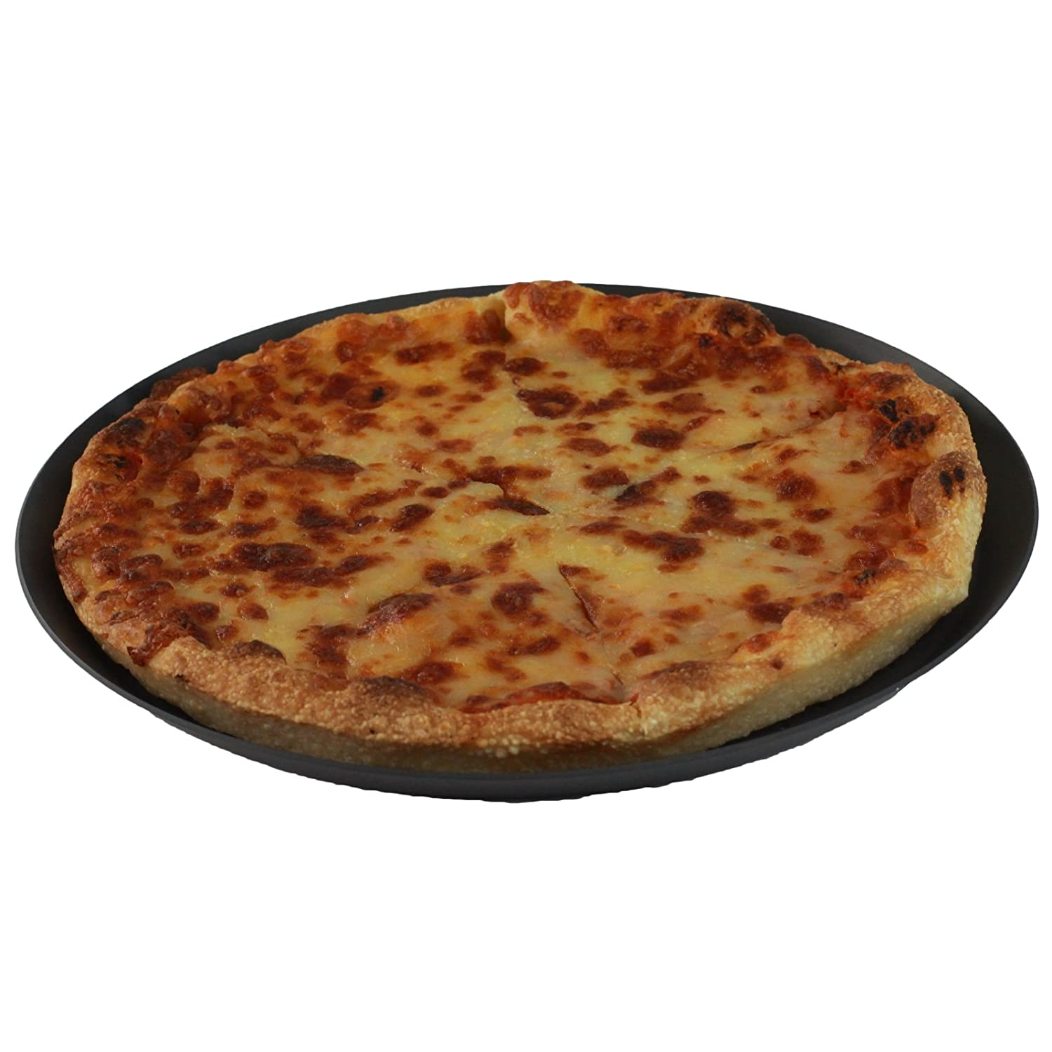 High Quality Professional Pizza Baking Tray - Medium 9 Inch Perfect Cook Non-Stick Pizza Pan GOLDBEARUK