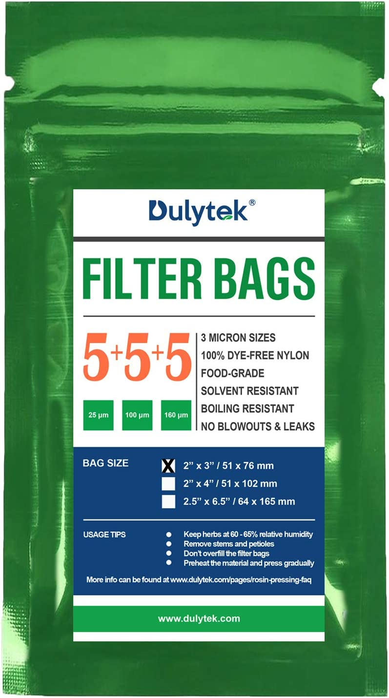 5 Bags Each Size 160 Microns Dulytek Premium Nylon Filter Bags 2 x 3 Trial Mixed Mesh Sizes Double-Stitching 15 Pcs 25 Zero Blowouts 100