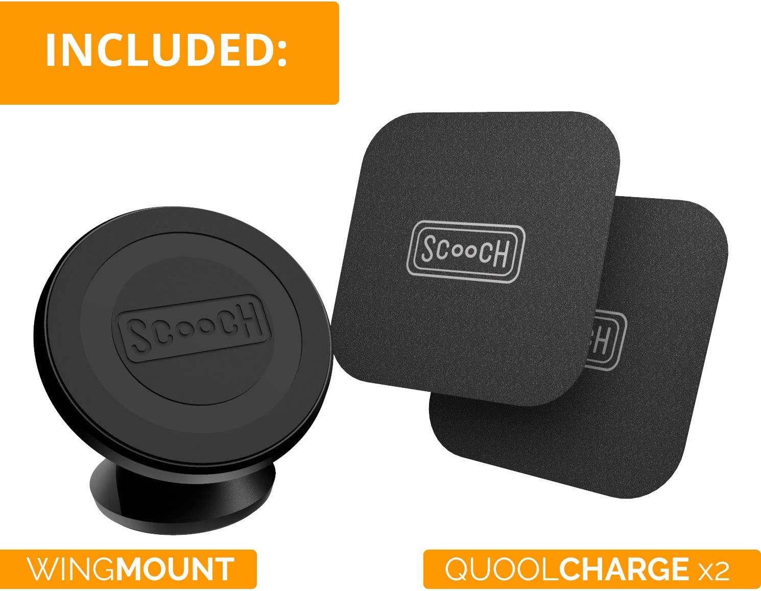 Scooch Wingmount Universal Magnetic Car Mount