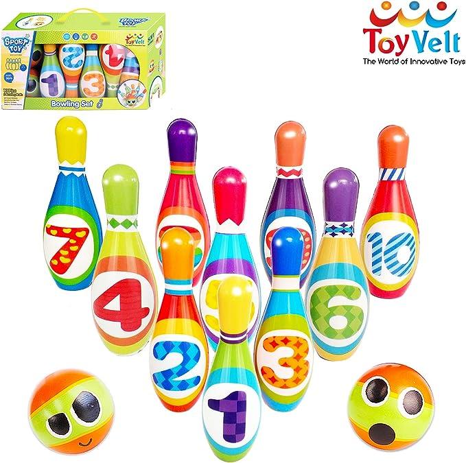 ToyVelt Bowling Set