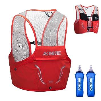 TRIWONDER Mochila de hidratación Ligero 2,5L Superior Chaleco para Trail Running Ciclismo Marathoner Profesional